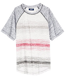 Univibe Big Boys Delano Stripe Raglan T-Shirt