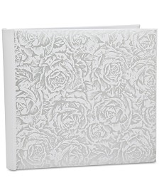 Godinger Philip Whitney White Rose Large Photo Album