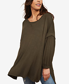 Motherhood Maternity French Terry Top
