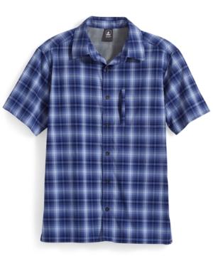 Ems Men's Journey Plaid Short-Sleeve Shirt