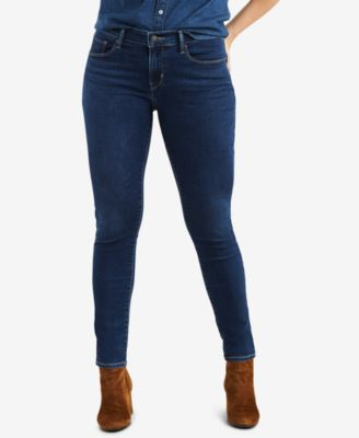 Womens Curvy-fit Skinny Jeans