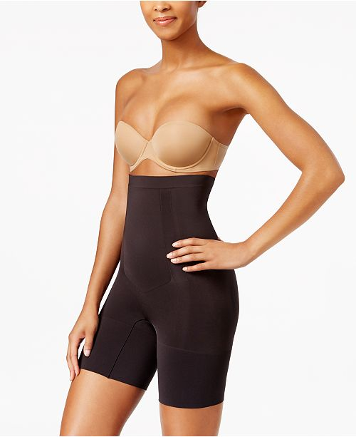 3343ec249ed SPANX Women s OnCore High-Waisted Mid-Thigh Short SS1915   Reviews ...