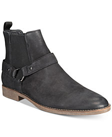 Alfani Men's Briar Harness Boots, Created for Macy's