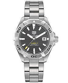 Men's Swiss Automatic Aquaracer Calibre 9 Stainless Steel Bracelet Watch 41mm