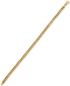 Rope Chain Bracelet in 14k Gold