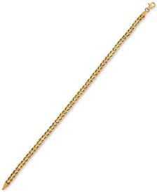 Rope Chain Bracelet in 14k Gold