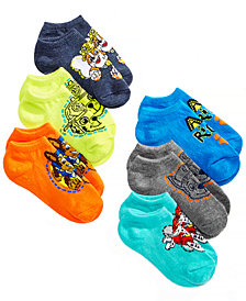 PAW Patrol Toddler Boys 6-Pk. No-Show Socks