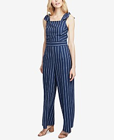 RACHEL Rachel Roy Kate Striped Jumpsuit, Created for Macy's