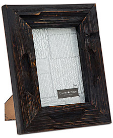 "Philip Whitney 5"" x 7"" Black Barn Picture Frame"