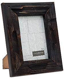 """Godinger Philip Whitney 5"""" x 7"""" Black Barn Picture Frame"""