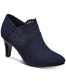 Karen Scott Marana Perforated Booties, Created for Macy's