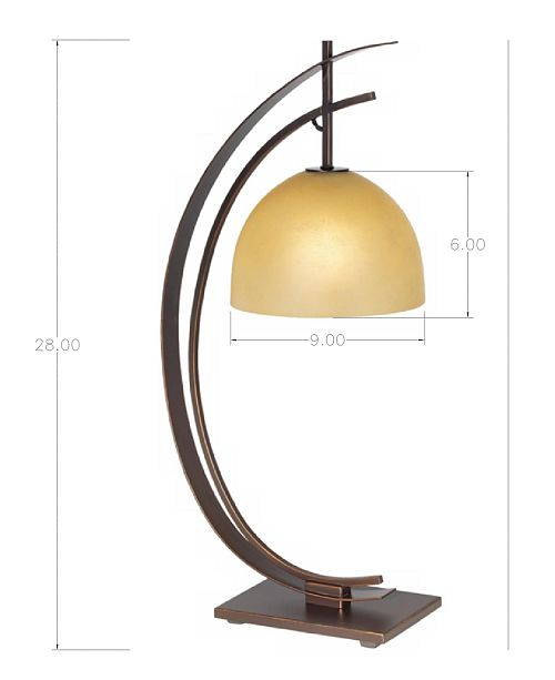 Kathy ireland home by pacific coast arc orbit bronze table lamp main image mozeypictures Image collections