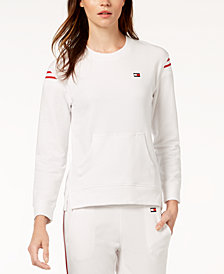 Tommy Hilfiger Sport Crew-Neck Active Sweatshirt, Created for Macy's