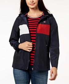 Tommy Hilfiger Sport Hooded Windbreaker Jacket