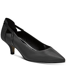 Easy Street Fancy Kitten-Heel Pumps