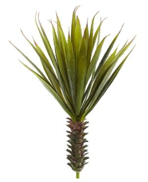 Nearly Natural 2Pc Spiky Agave Succulent Artificial Plant Set