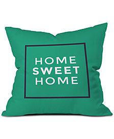 Deny Designs Zoe Wodarz My Sweet Home Throw Pillow