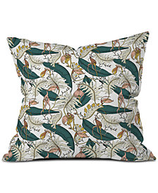 Deny Designs Holli Zollinger Orchid Garden Amora Throw Pillow