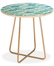 Deny Designs Hello Sayang La Mer Round Side Table