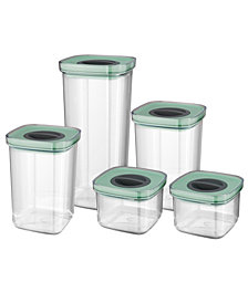 BergHOFF Leo Collection Smart Seal Glass 10-Pc. Food Storage Set