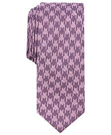 Bar III Men's Wayne Houndstooth Skinny Tie, Created for Macy's