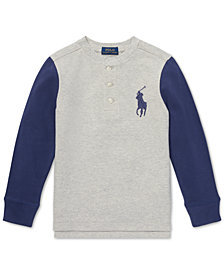 Polo Ralph Lauren Toddler Boys Cotton Henley Shirt