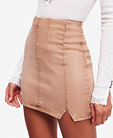 Free People Femme Fatale Pull-On Mini Skirt