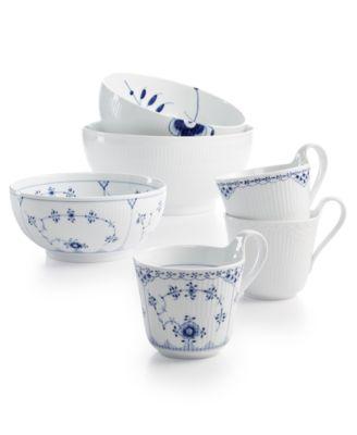 royal copenhagen history mix set of 3 bowls
