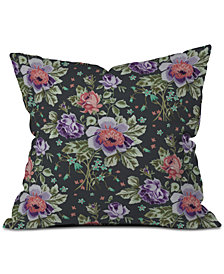 Deny Designs Rachelle Roberts Spring Floral Throw Pillow