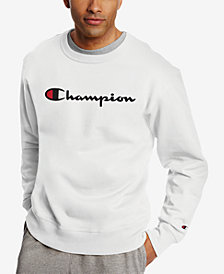 Champion Men's Powerblend Fleece Logo Sweatshirt