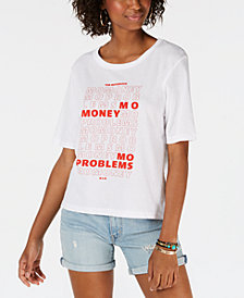 Merch Traffic Juniors' Cotton Mo-Money Graphic T-Shirt