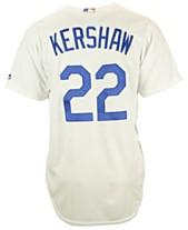 42844a6eb97 Majestic Men s Clayton Kershaw Los Angeles Dodgers Player Replica Cool Base  3XL-6XL Jersey