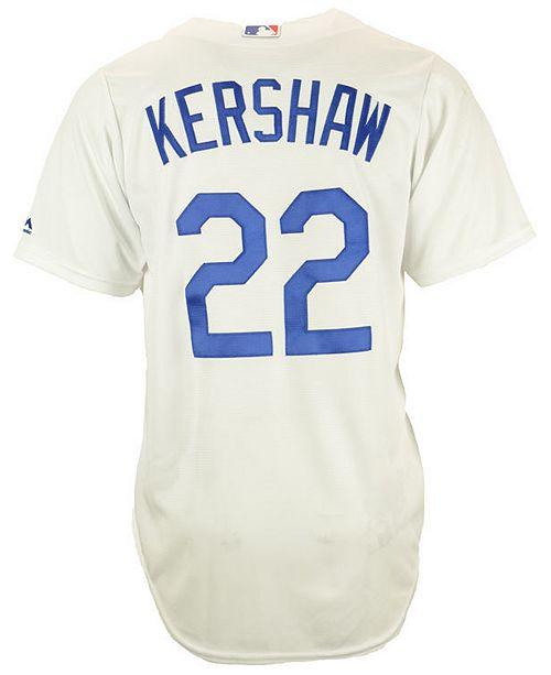 89755dc31 Majestic Men s Clayton Kershaw Los Angeles Dodgers Player Replica ...