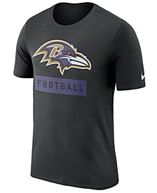 Nike Men's Baltimore Ravens Legend Football Equipment T-Shirt