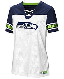 Majestic Women's Seattle Seahawks Draft Me T-Shirt 2018