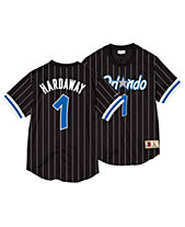 Mitchell   Ness Men s Penny Hardaway Orlando Magic Name and Number Mesh  Crewneck Jersey 3650023d5