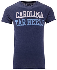 Retro Brand Men's North Carolina Tar Heels Team Stacked Dual Blend T-Shirt