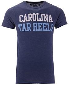 Retro Brand Men's North Carolina Tar Heels Team Stacked Dual Blend T-Shirt