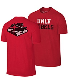 Men's UNLV Runnin' Rebels Team Stacked Dual Blend T-Shirt
