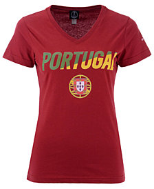 Fifth Sun Women's Portugal National Team Gym Wedge World Cup T-Shirt
