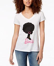 Love Tribe Juniors' Barbie Graphic-Print T-Shirt