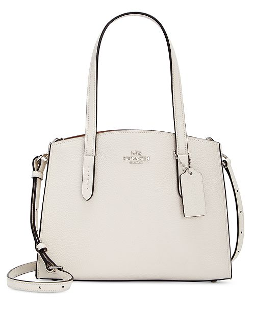 94f3fc7626 COACH Charlie 28 Carryall in Pebble Leather & Reviews - Handbags ...