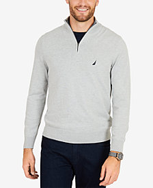 Nautica Men's Classic Fit Half-Zip Sweater