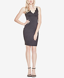 GUESS Salina Scallop-Detail Bodycon Dress