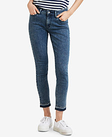 Levi's® 711 Skinny Released Hem Jeans