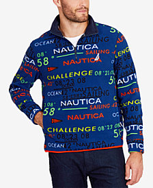 Nautica Men's Quarter-Zip Pullover