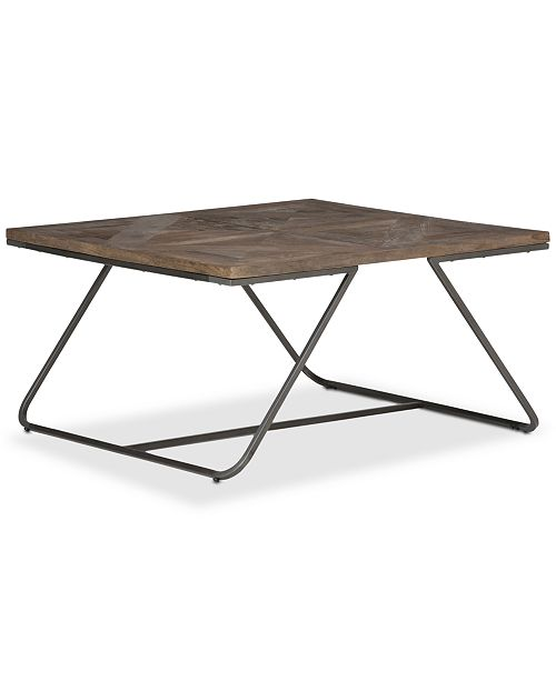 Simpli Home CLOSEOUT! Ganim Square Coffee Table
