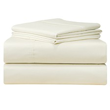 Solid 4-Pc. Extra Deep Sheet Sets, 500 Thread Count Cotton Sateen