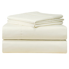 Pointehaven Solid King Pillowcase Pair, 500 Thread Count Cotton Sateen