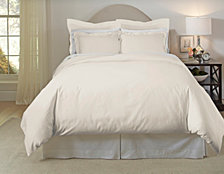 Pointehaven Solid 3-Pc. Duvet Sets, 620 Thread Count Cotton